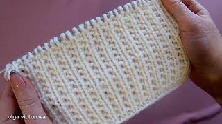 Простой Узор в стиле кэжуал шик для свитера джемпера кардигана 705 Узоры спицами