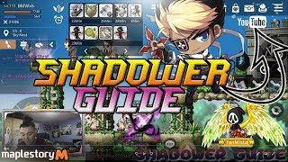 Maplestory M Shadower - Guide to Shadower's skills and gameplay