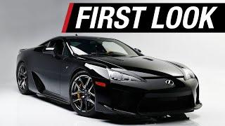 FIRST LOOK - 2012 Lexus LFA - BARRETT-JACKSON