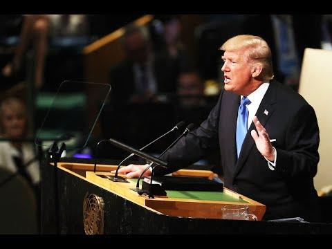 Trump Speaks To UN, Threatens To Destroy North Korea