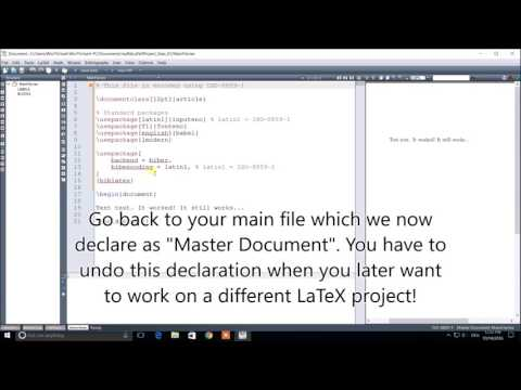 Bibliography / Citations in LaTeX |  Tutorial |  Video 1 | Basic Usage | BibLaTeX, Biber, Texmaker