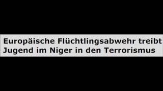 EU-Flüchtlingsabwehr treibt Jugend im Niger in den Terrorismus