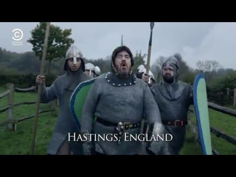 Drunk History - Phill Jupitus as William the Conqueror