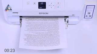 Brother DCP-T500W: тест на скорость печати текста