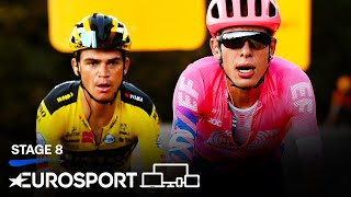 Vuelta a España - Stage 8 Highlights | Cycling | Eurosport