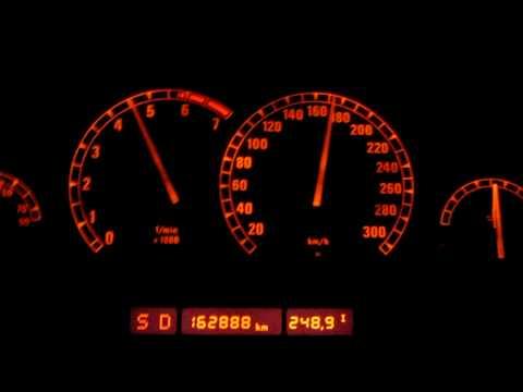 HD: Acceleration Beschleunigung BMW 850 i A V12 E31 0-250 km/h (4 speed) 300HP 850i