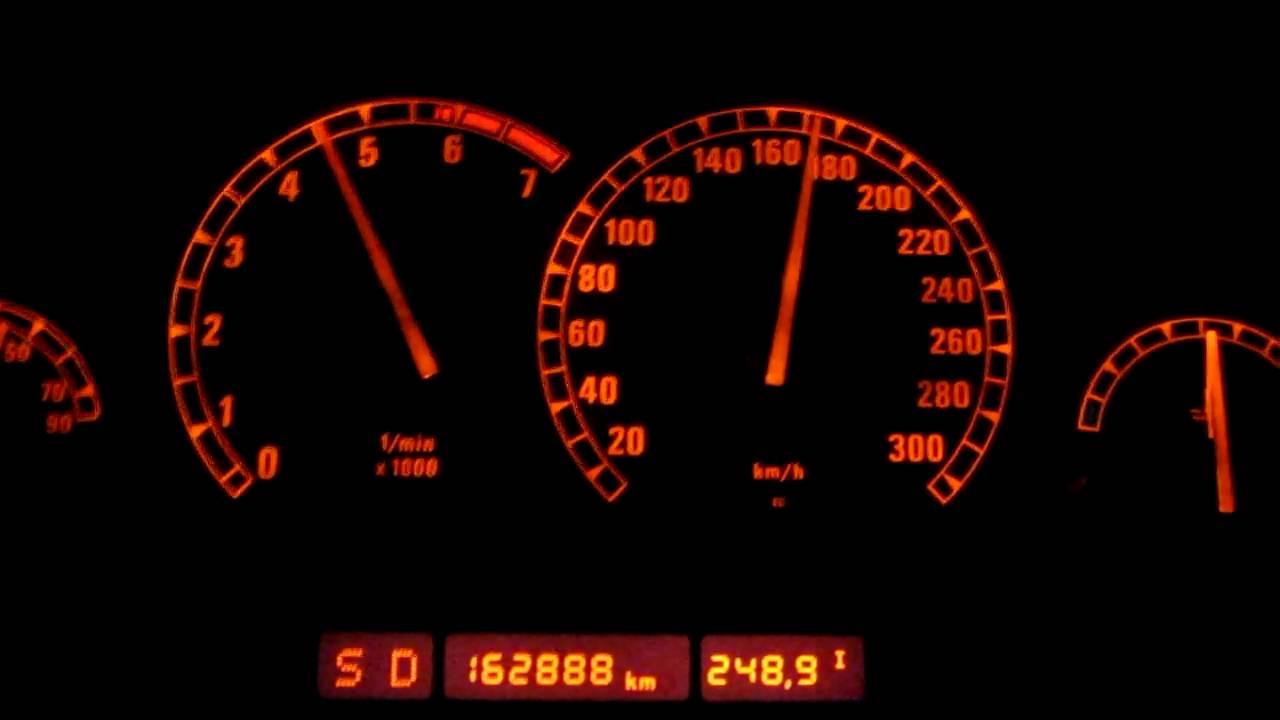 BMW Convertible bmw 850 0 60 HD: Acceleration Beschleunigung BMW 850 i A V12 E31 0-250 km/h (4 ...