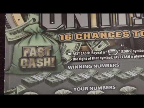 $10 Bank On It - Pennsylvania Lottery Scratch Off - Nice Win!