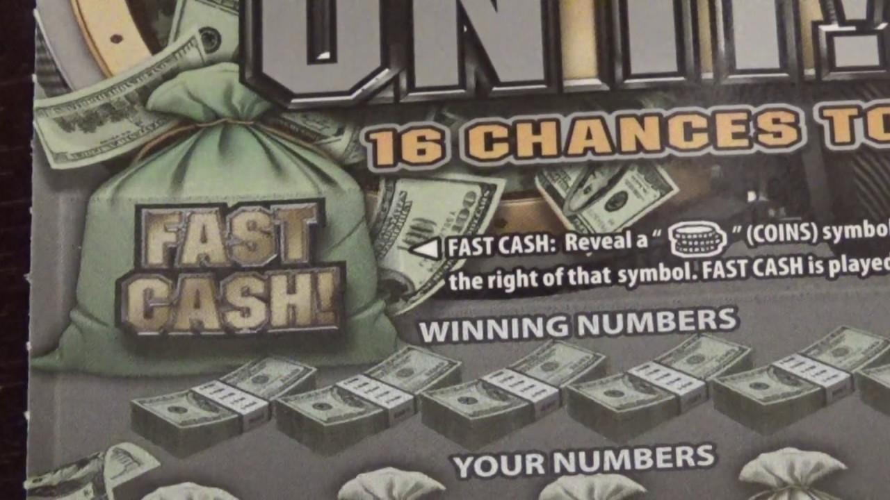 $10 Bank On It - Pennsylvania Lottery Scratch Off - Nice Win ...