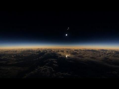 Skywatch- Solar Eclipse Reveals Massive Planetary Body Heading Towards Earth