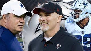 "Dan Quinn The New Cowboys Defensive Coordinator ""Grades"" | Law Nation Undisputed Review"