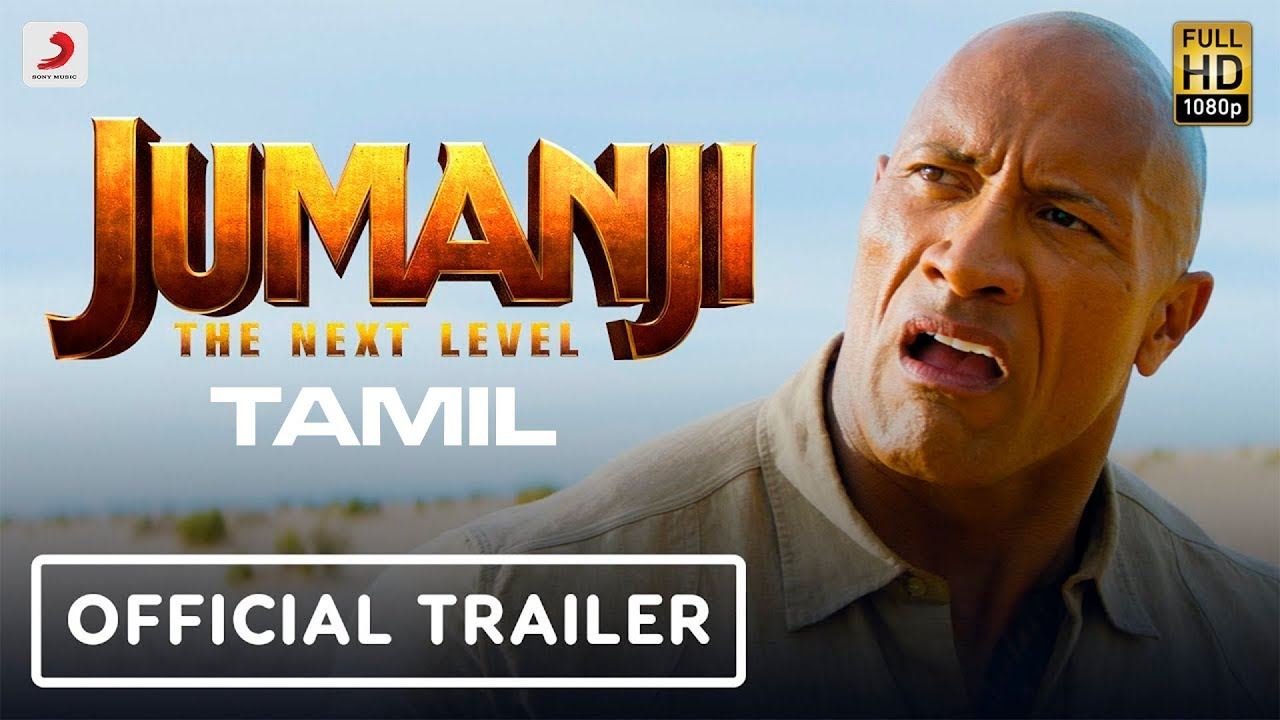 Jumanji The Next Level Official Tamil Trailer Tamil Movie News Times Of India