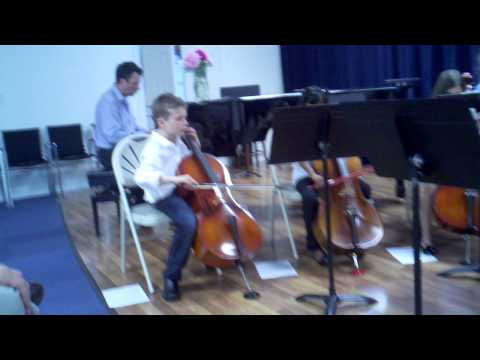 John rehearses Ode to Joy 6- 2-13