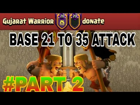 Amazing TH12 Attacks and Strategies on Anti 3 Star War Base | Gujarat Warrior vs Donate PART 2