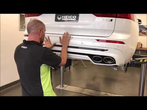 HEICO SPORTIV - Installation video bodykit Volvo XC60 (German)