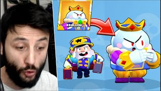 Brawl Pass Fulledim! KİNG LOU ve BELBOY MİKE Aldım! Brawl Stars