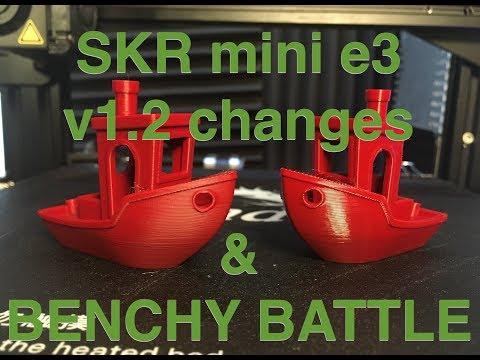 Ender3 Benchy Battle: Stock Board Vs SKR Mini V1.2