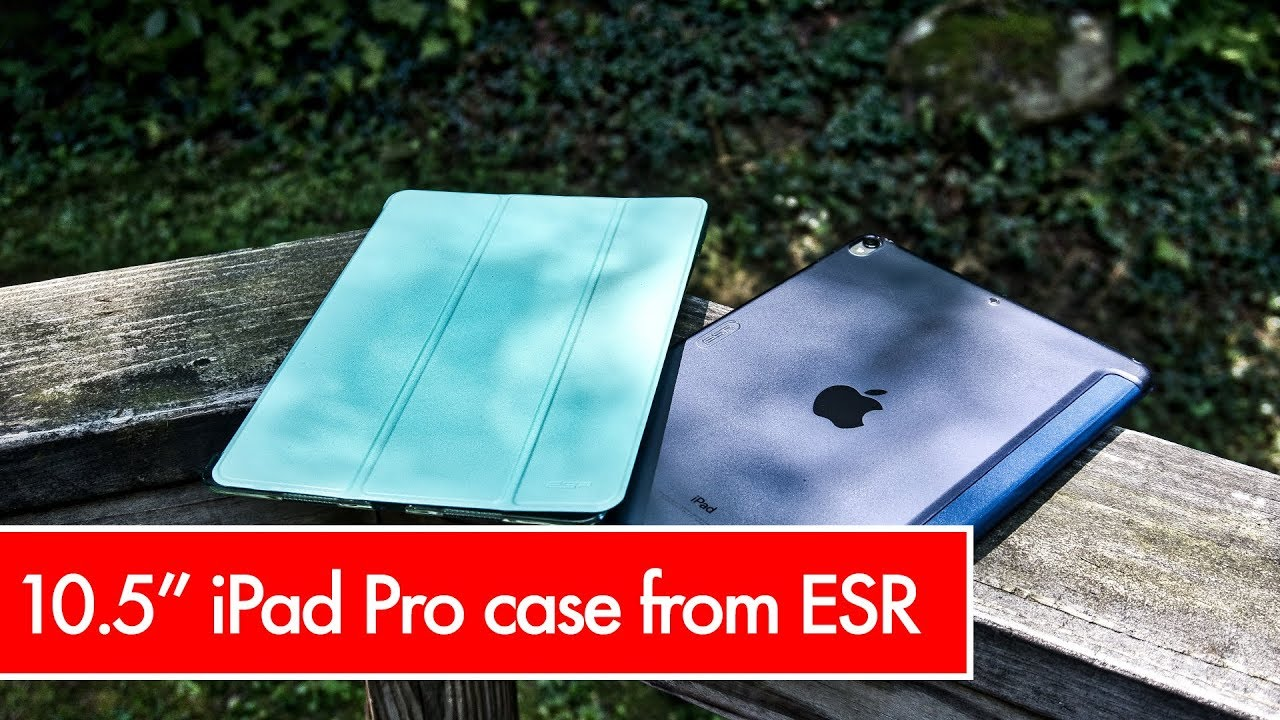 105 Ipad Pro Case From Esr Mint Green And Navy Blue Youtube
