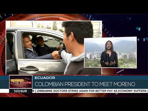 Colombia and Ecuador's president to meet in Quito