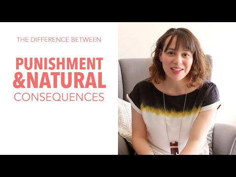The Main Difference Between Punishment and Discipline