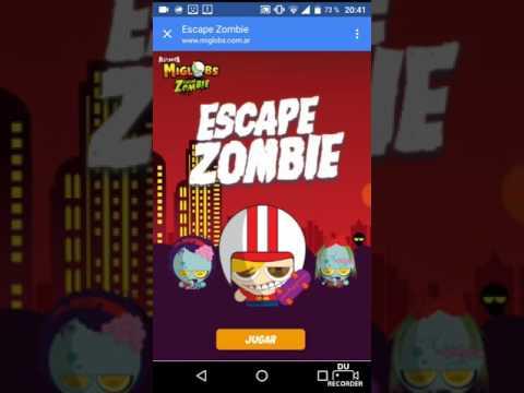 Jugando miglobs escape zombie