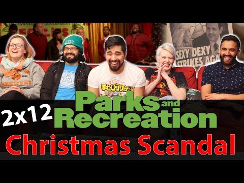Parks And Recreation - 2x12 Christmas Scandal - Group Reaction
