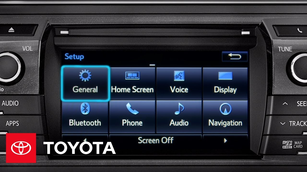 2014 Corolla How-To: Customizing Entune™ Defaults | Toyota