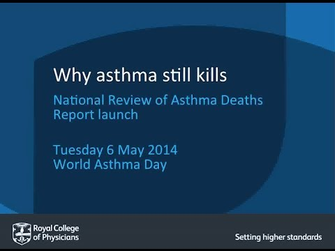 Why asthma still kills - National Review of Asthma Deaths (NRAD) Report  launch