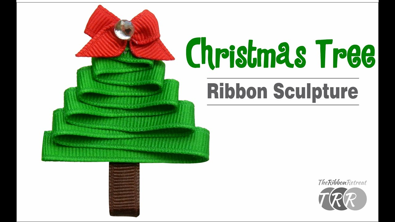 Make Ribbon For Christmas Tree