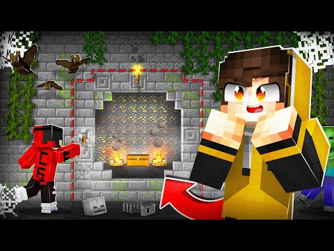 Wir finden GEHEIME NEUE GOLD WAND in Minecraft RP!