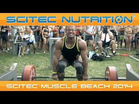 SCITEC MUSCLE BEACH 2014 - BALATON, NAPSÜTÉS ÉS 340 KILÓ!