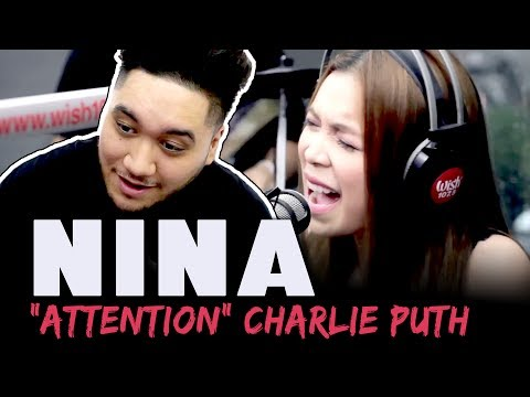 "Nina covers ""Attention"" (Charlie Puth) LIVE on Wish 107.5 Bus REACTION!!!"
