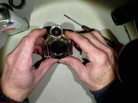 Repair old Bausch & Lomb AUTOMAT______PART_6_Motion Lapse film