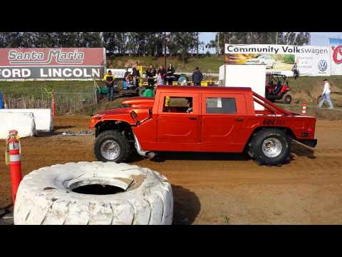 Santa Maria Speedway sand drags fast Hummer