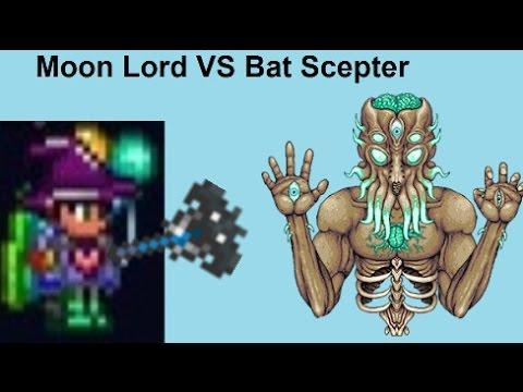 Terraria|Moon Lord VS Bat Scepter
