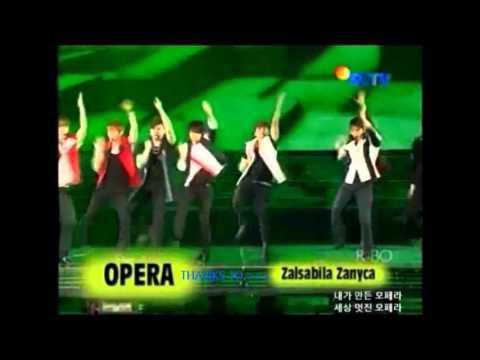 Super Junior - Opera Korean Version @ SS4 INDONESIA