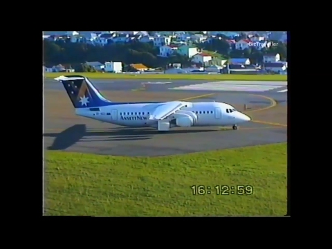 1990's Plane Spotting at Wellington Airport Part One - 22 June 1997
