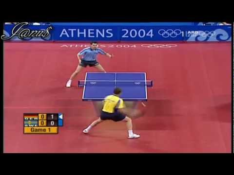 2004 Olympics (ms-qf) BOLL Timo - WALDNER Jan Ove [Full Match|Short Form]