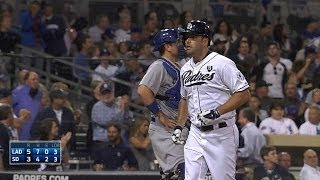 LAD@SD: Segundo HR de Smith contra Los Dodgers