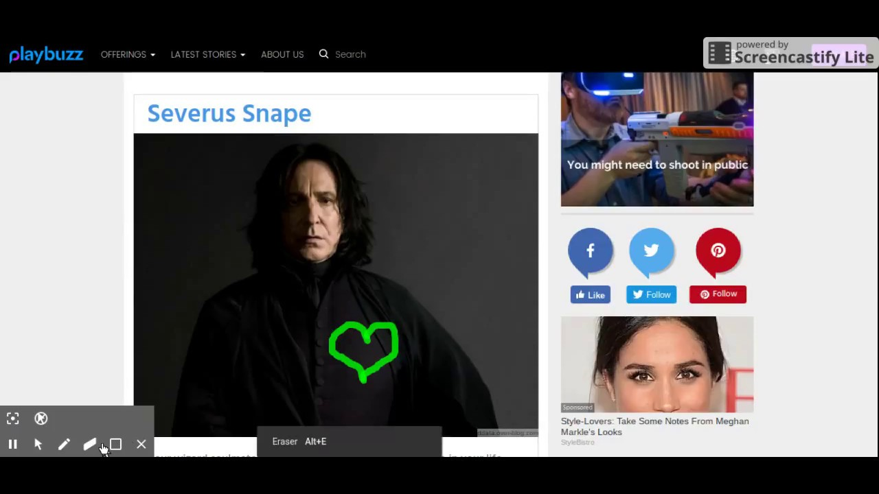 Who is my HARRY POTTER soulmate? QUIZ on PLAYBUZZ