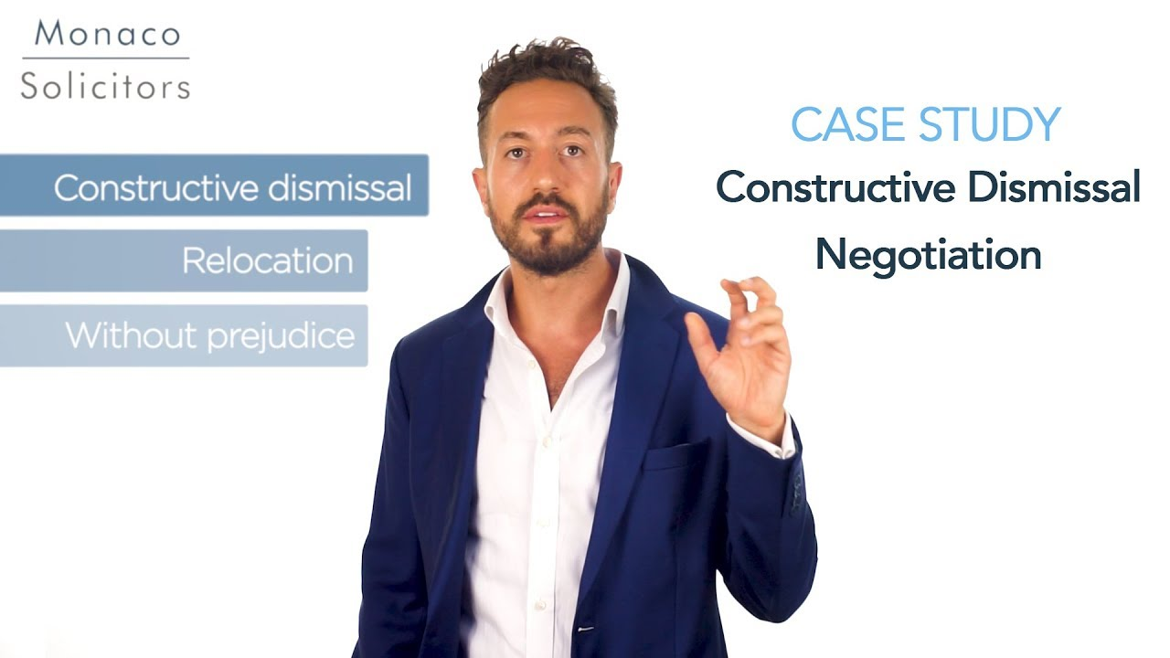 Download Constructive Dismissal Real Life Case Study - How to Negotiate Your Own Settlement Agreement