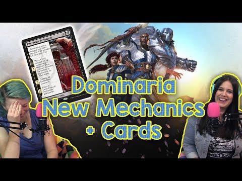 Dominaria Mechanics + NEW CARDS!! Obscure Magic the Gathering Mechanics - Part II! | MtG