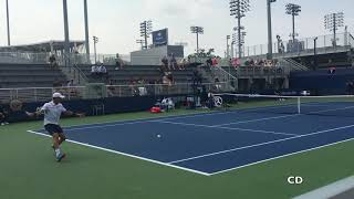 US OPEN 2018 COURT LEVEL PLAY - R. Bautista Agut vs J. Kubler [HD]