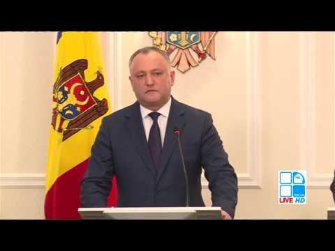 ÎNTÂLNIRE TRILATERALĂ ANDRIAN CANDU, PAVEL FILIP ȘI IGOR DODON