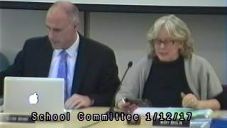School Committee Meeting 1/12/17