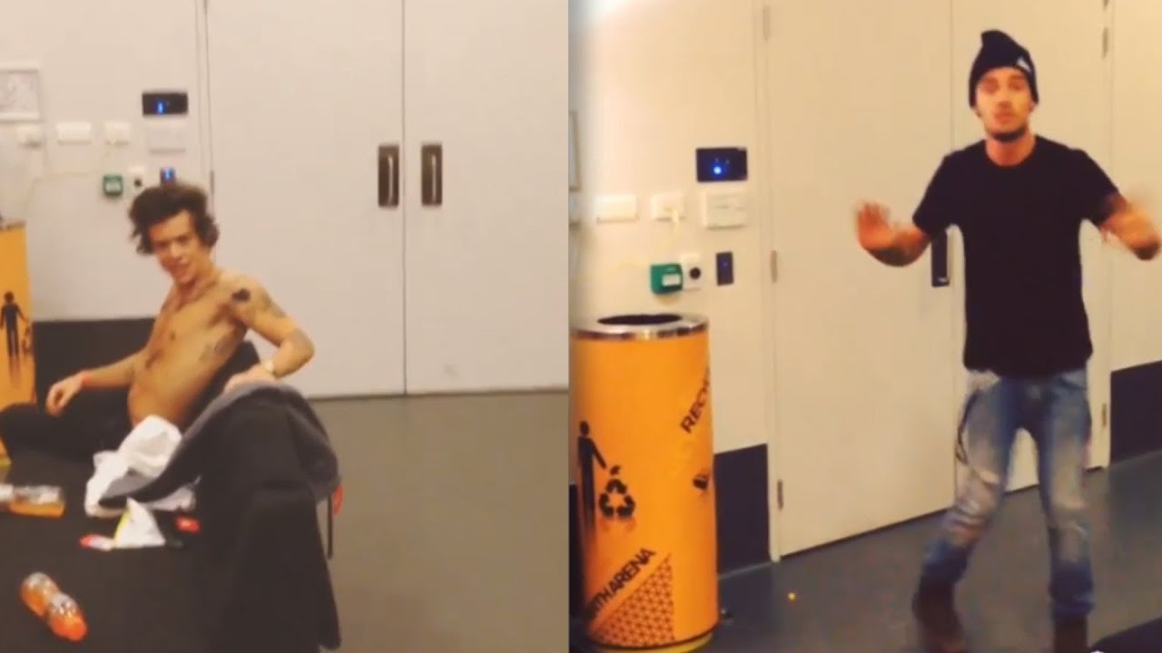 Harry Styles vs Liam Payne: Backstage Dance Battle - Who's the Best Dancer?