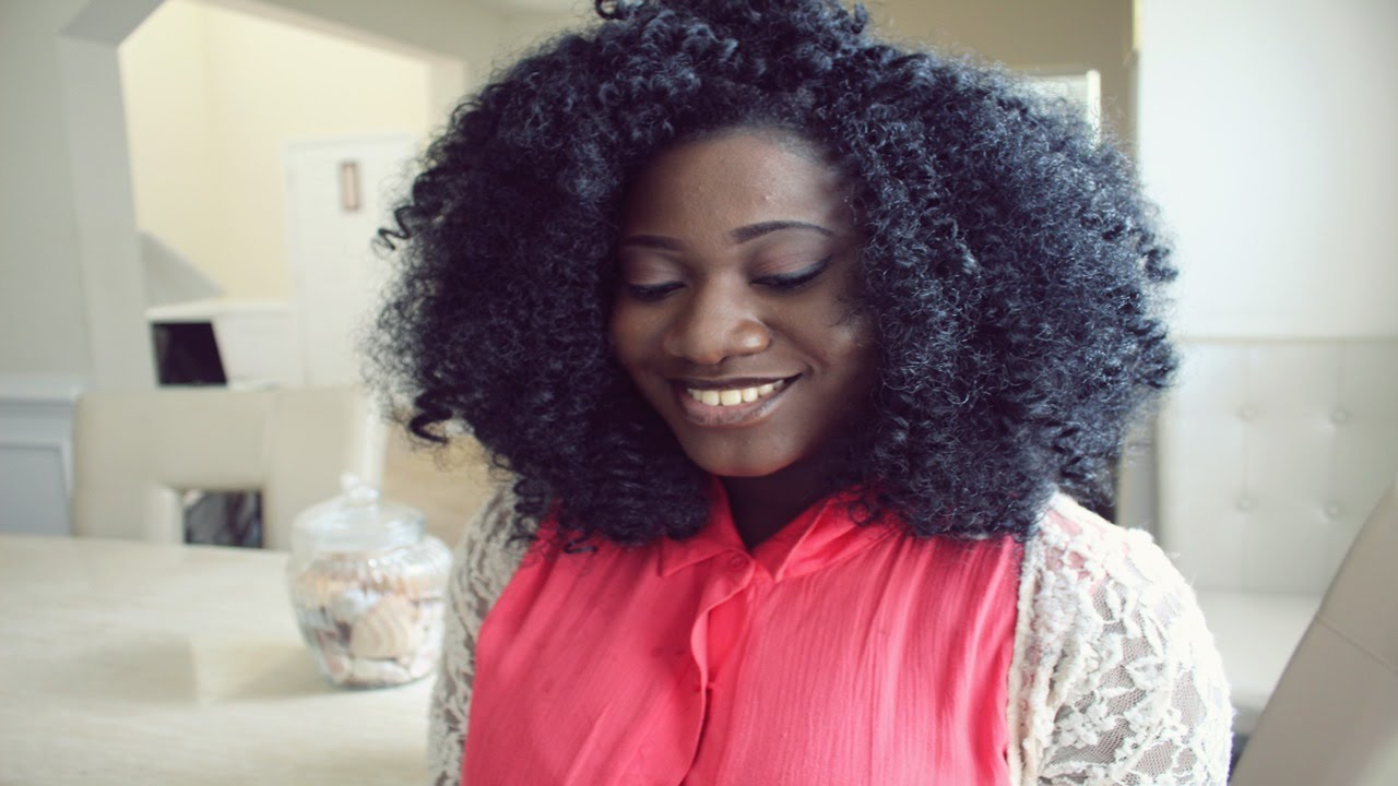 Crochet Hair Styles With Kanekalon Hair : Crochet wig w/ Kanekalon hair - YouTube