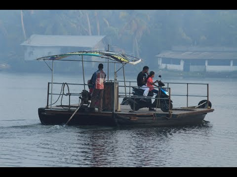 Off to Kadamakkudy Island|A ferry journey from Chathanad|Gods own country ,Kerala