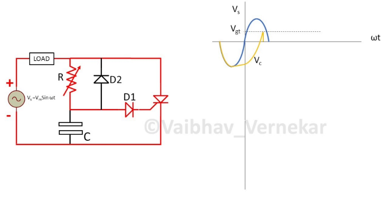 r and rc firing circuit diagram wiring diagram ops Simple Capacitor Circuit