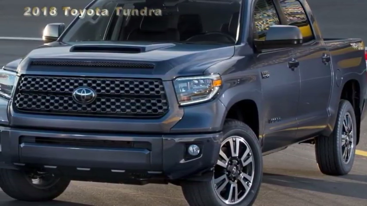 2018 toyota tundra revealed gets a mild facelift and a trd sport version